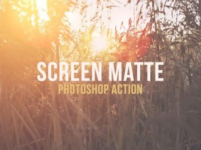Gratis: Screen Mate Action – Photoshop Aktionen
